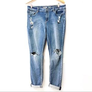 Warehouse One Distressed boyfriend Jeans